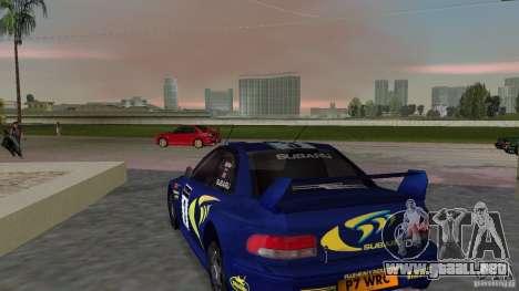 Subaru Impreza 22B Rally Edition para GTA Vice City vista lateral izquierdo