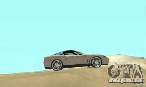 Ferrari F575 para la visión correcta GTA San Andreas