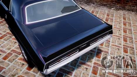 Dodge Challenger 1971 RT para GTA 4 ruedas