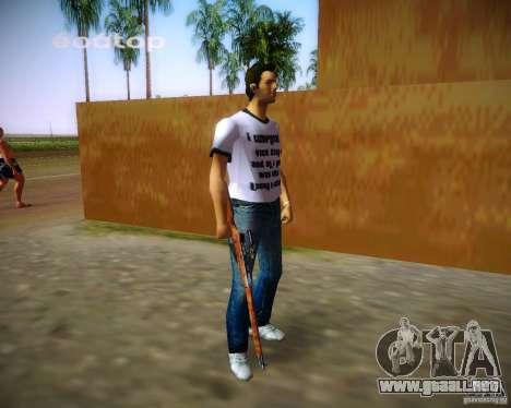 Mosin-Nagant para GTA Vice City quinta pantalla