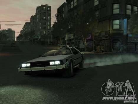 DeLorean BTTF 2 para GTA 4 left