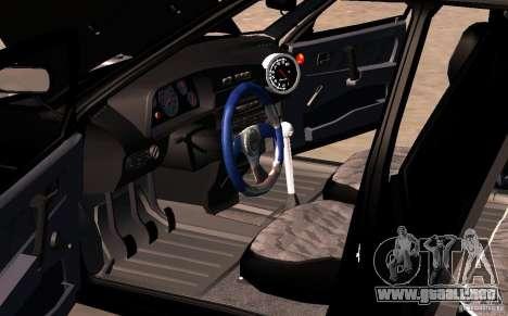 Vaz 2109 centro lado v2.0 para la vista superior GTA San Andreas