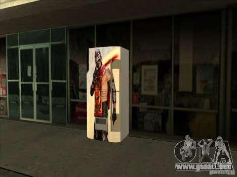 Gaseosa Ray Mysterio para GTA San Andreas tercera pantalla