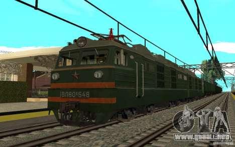 FERROCARRIL mod II para GTA San Andreas tercera pantalla