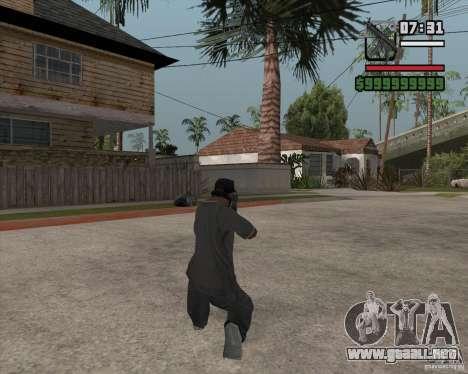 New MP5 (Submachine gun) para GTA San Andreas segunda pantalla