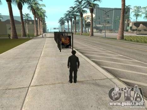 Línea de autobús en Las Venturas para GTA San Andreas segunda pantalla