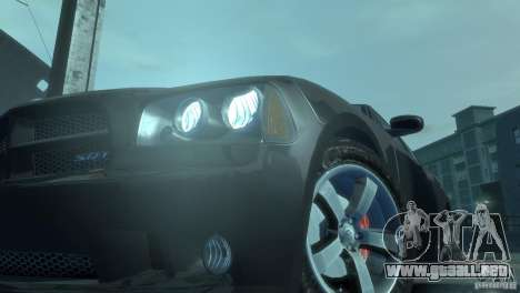 Dodge Charger 2007 SRT8 para GTA 4 vista interior