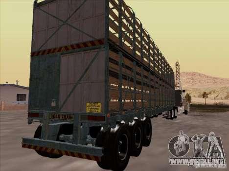 Trailer de Mack RoadTrain para la visión correcta GTA San Andreas