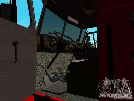 Fuego de Ural 5557-40 para visión interna GTA San Andreas