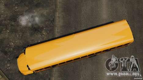 School Bus v1.5 para GTA 4 visión correcta