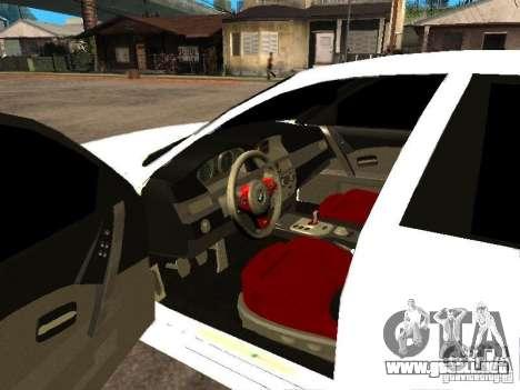 Bmw M5 Ls Ninja Stiil para GTA San Andreas vista posterior izquierda