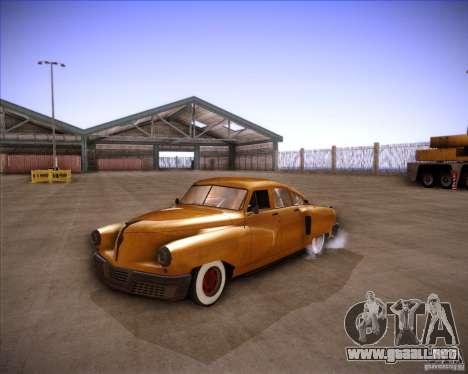 Walker Rocket para la visión correcta GTA San Andreas