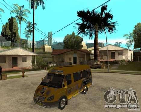 Gaz gacela 2705 Minibus para GTA San Andreas