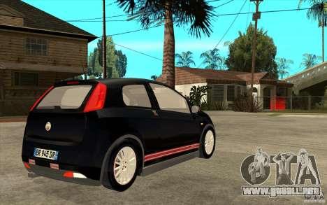 Fiat Grande Punto 3.0 Abarth para la visión correcta GTA San Andreas