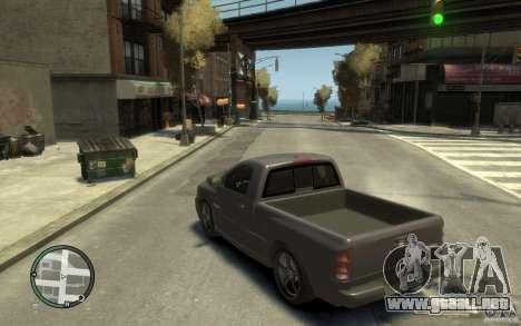 Dodge Ram SRT10 para GTA 4 Vista posterior izquierda