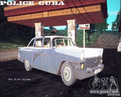 Policía de gas 13 Cuba para la visión correcta GTA San Andreas