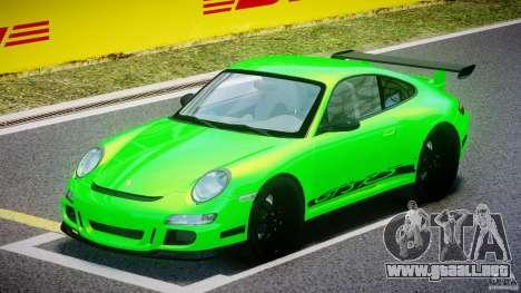 Porsche 997 GT3 RS para GTA 4 left