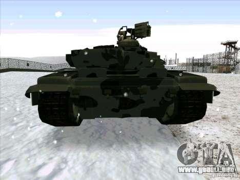 T-90 de Battlefield 3 para la visión correcta GTA San Andreas