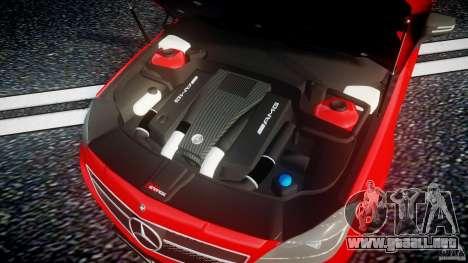 Mercedes-Benz CLS 63 AMG 2012 para GTA 4 vista hacia atrás