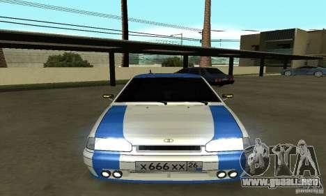 Ваз 2114 Nogay Tun para la visión correcta GTA San Andreas