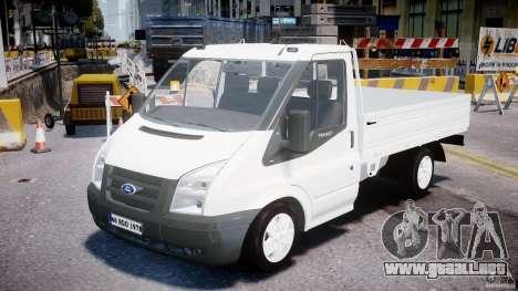 Ford Transit Pickup 2008 para GTA 4