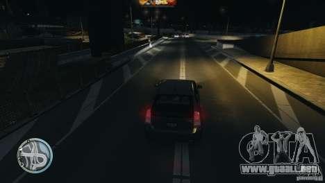 Glossy Radar para GTA 4 tercera pantalla