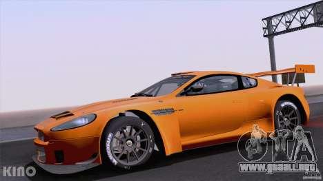 Aston Martin Racing DBRS9 GT3 para GTA San Andreas vista hacia atrás