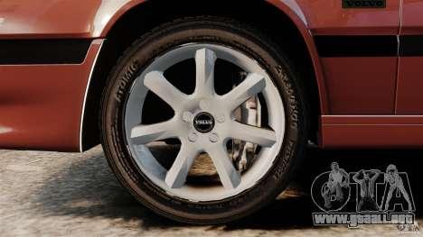 Volvo 850 Wagon 1997 para GTA 4 vista interior