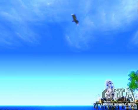Modificación gráfica global para GTA San Andreas tercera pantalla