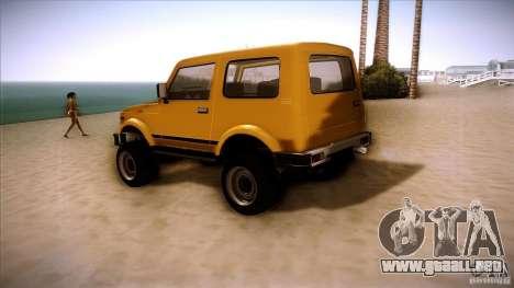 Suzuki Samurai para la visión correcta GTA San Andreas