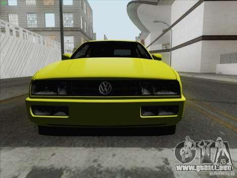 Volkswagen Corrado 1995 para la visión correcta GTA San Andreas