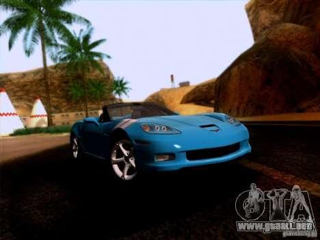 Chevrolet Corvette C6 Convertible 2010 para GTA San Andreas