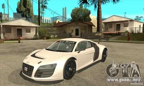 Audi R8 LMS v1 para GTA San Andreas
