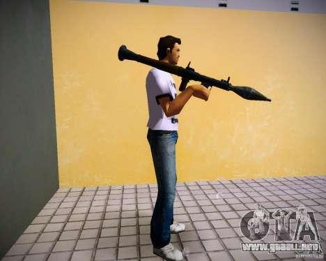 Pak armas de GTA4 para GTA Vice City novena de pantalla