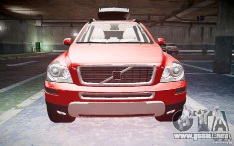 Volvo XC 90 para GTA 4 vista interior