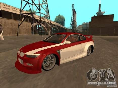 BMW M3 E92 Tunable para el motor de GTA San Andreas