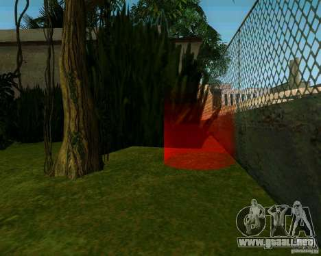 Manzano para GTA San Andreas segunda pantalla