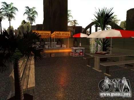 Nev Groove Street 1.0 para GTA San Andreas sucesivamente de pantalla