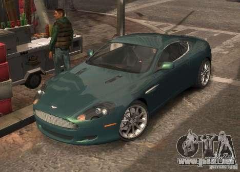 Aston Martin DB9 2008 v 1.0 para GTA 4 interior