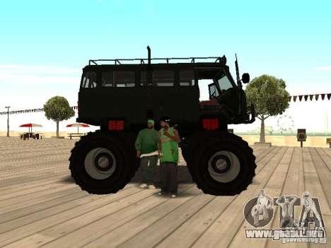 Uaz Monster para la visión correcta GTA San Andreas