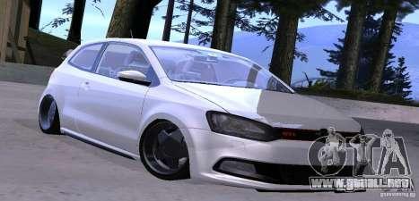 Volkswagen Polo GTI Stanced para GTA San Andreas