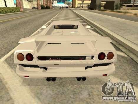 Lamborghini Diablo VT 1995 V2.0 para la visión correcta GTA San Andreas