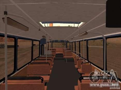 Nuevos scripts para autobuses. 2.0 para GTA San Andreas tercera pantalla