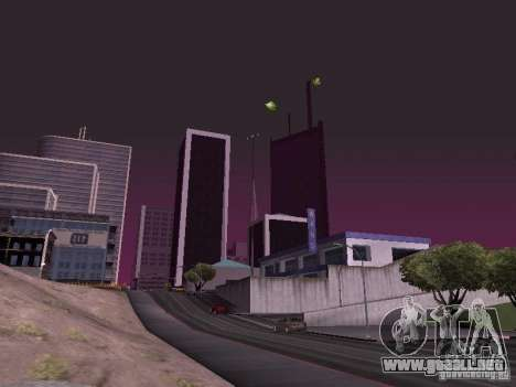 Weather manager para GTA San Andreas octavo de pantalla