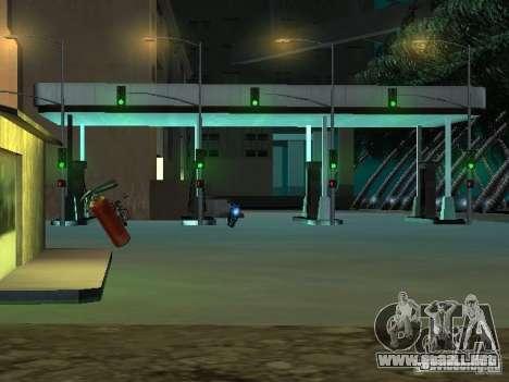 Nueva ciudad v1 para GTA San Andreas segunda pantalla