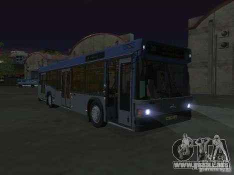 MAZ 103 para visión interna GTA San Andreas