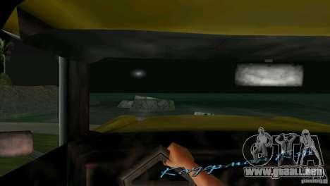 Vista desde la cabina para GTA Vice City séptima pantalla