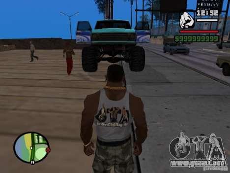 Un monstruo en el estilo del FC ZENIT para la visión correcta GTA San Andreas