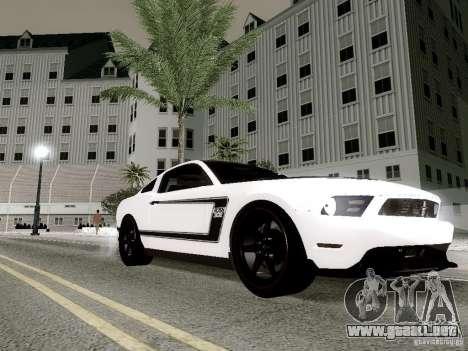 ENBSeries by Shake para GTA San Andreas sucesivamente de pantalla