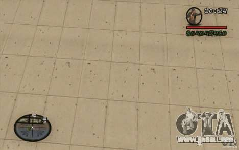 HUD de M0r1s para GTA San Andreas